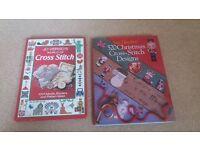 Cross stitch books both for £5
