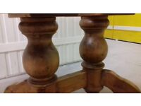 Carved dining table,extendable, solid wood, carved leg,stable,160-240cm,Christmas table,no chairs