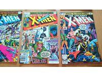 100+ 1970s comics, xmen, avengers, fantastic four, etc