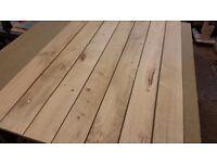 Oak boards kiln dried