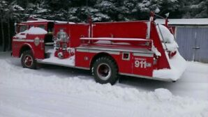 1968 ford fire truck