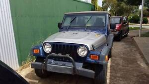 2000 Jeep Wrangler Convertible Northfield Port Adelaide Area Preview