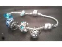 Pandora Bracelet with 20+ charms