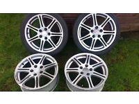 Honda civic type R alloy wheels, £120