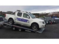 "NEW 16 x 6'8"" TILTBED CAR TRANSPORTER MADE FROM INDESPENSION TRAILERS with 5 year chassis guarantee"