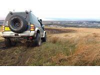 mitsubishi pajero mini monster truck lifted 4x4 full road legal off road beast jap import not shogun