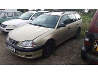 Toyota Avensis, lhd, 2002 year, AC, manual gearbox