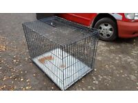 Large Dog Cage. Good condition