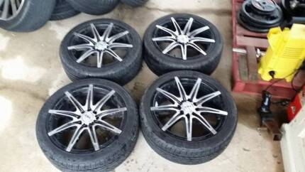 """16"""" CSA Instinct Multi Pattern 4 stud and Tyres St Clair Penrith Area Preview"""