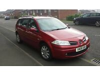Bargain. 2008 Renault Megane 1.6 dynamique estate. £1175,MAY TAKE CHEAP CAR AND CASH