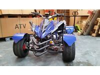 NEW 2016 300CC BLUE ROAD LEGAL QUAD BIKE ASSEMBLED IN UK FINANCE AVAILABLE, FREE NEXT DAY DELIVERY