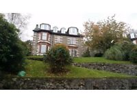 4 BEDROOM (TOP FLOOR) FLAT IN CONVERTED VICTORIAN SANDSTONE VILLA OVERLOOKING ROTHESAY BAY