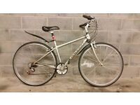 FULLY SERVICED UNISEX HYBRID RALEIGH PIONEER BICYCLE