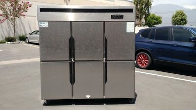 Six Door Refrigerator Freezer R46commercial Coolerrestaurant Equipment