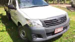 2014 hilux workmate my14 Glass House Mountains Caloundra Area Preview