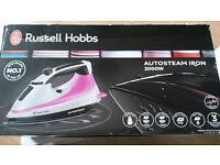 Russell Hobbs autosteam Iron BNIB