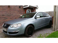WV passat 2006 blue With lovely dare alloys*HAND BREAK HAS BEEN FIXED*