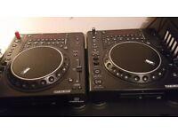 2 x Reloop RMP4 DJ Decks