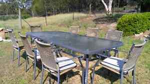 Free Outdoor setting 8 seats Maroota The Hills District Preview