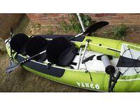 ZPro Tango TA300 3 man Inflatable Kayak with carry bag