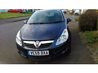 Spares or Repairs. 2010 Vauxhall Corsa SE. Engine Damaged. Split in rear bumper.