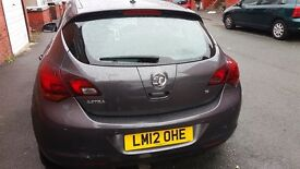 VAUXHALL ASTRA SRI 2012, 12 MONTHS MOT, NEEDS TLC, CHEAPEST ASTRA J IN THE U.K ONLY £2695