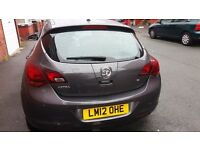 VAUXHALL ASTRA SRI 2012, 12 MONTHS MOT, NEEDS TLC, CHEAPEST ASTRA J IN THE U.K ONLY £2195