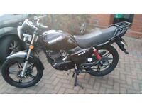 Motorbike 125cc qingqi