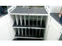 Bretford Power Cart 16 bay mobile laptop cabinet