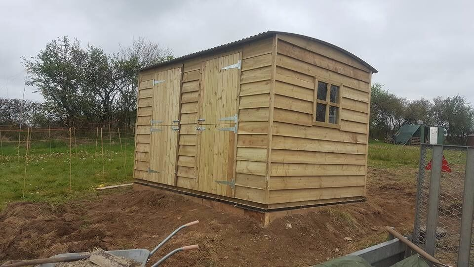 Garden Sheds Gumtree 12x8 garden shed , shepherds hut , (3.6 metres x 2.4 metres) | in