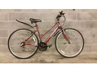 FULLY SERVICED LADY CITY APOLLO CX.10 BICYCLE