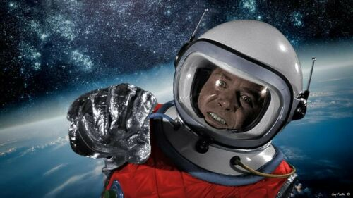 Lost in Space 1:6 John Robinson Action Figure SPACE HELMET AIR TANK / CONTROLLER