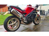 speed triple 1050 for sale £4000 or nearest offer