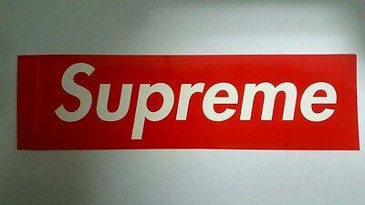 Supreme Red Box Logo Sticker 100% AUTHENTIC