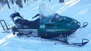Looking to trade sled for hunting property use