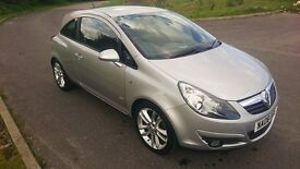 Silver Vauxhall CORSA for sale *LOW MILEAGE*