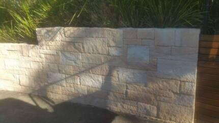 Sandstone Cladding - Split Faced