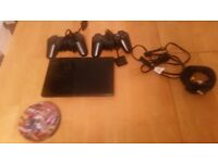 PS2, controllers and games