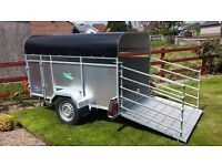 NEW 7x4 GALVANISED LIVESTOCK TRAILER LOADING GATES AVAILABLE AT ARMAGH TRAILERS