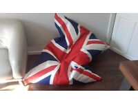 Made piggy bag chair union Jack - original