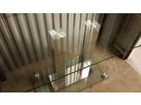 Glass Modern Dining Table