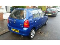 SUZUKI ALTO 1.0 PETROL 5 DOOR ECONOMICAL TO RUN CHEAP TO INSUR MOT 29/01/2017