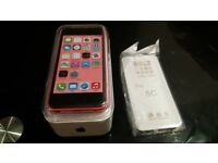 iPhone 5c * 16 GB *PINK * FACTORY UNLOCKED* Brand New* With All Accessories