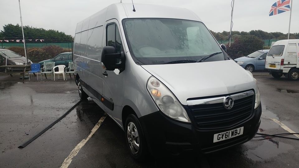 2012 vauxhall movano 2.3ltr diesel 1 company owner