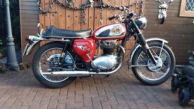 CLASSIC 1967 BSA A65 THUNDERBOLT 650