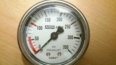 Druckluftmanometer 350 bar Atemluft