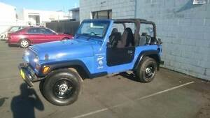 1997 Jeep Wrangler sport great 4x4 regod & rwc Southport Gold Coast City Preview
