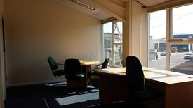 Office for 3-4 Persons Available fr £75wk.5 mins fr P'mouth Central/Hilsea Train Stn/M275. Car Park