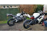 2006 CBR 1000 RR complete set of bodywork in silver