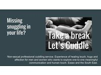 Take a break Let's Cuddle - Profesional Cuddling Service - Non Sexual